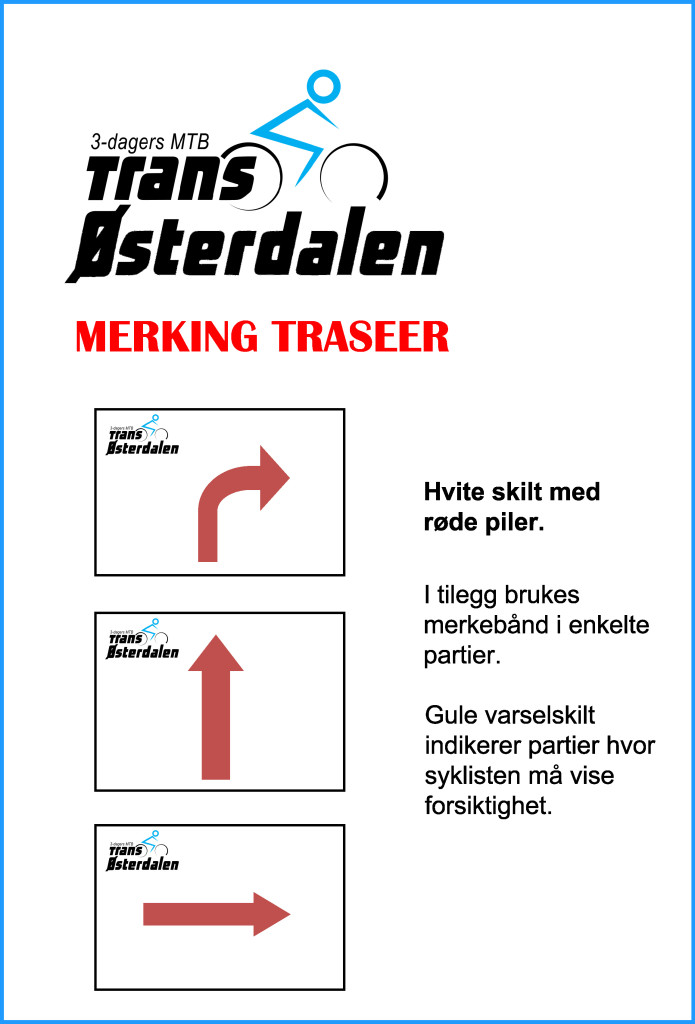 MERKING TRANSOSTERDALEN